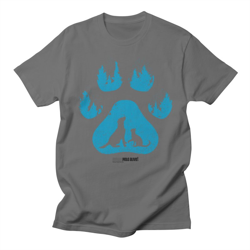 Forest Paw Men's T-Shirt by Austin Pets Alive's Artist Shop