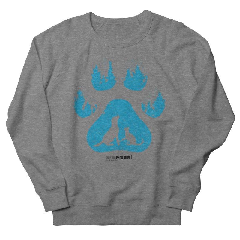Forest Paw Women's Sweatshirt by Austin Pets Alive's Artist Shop