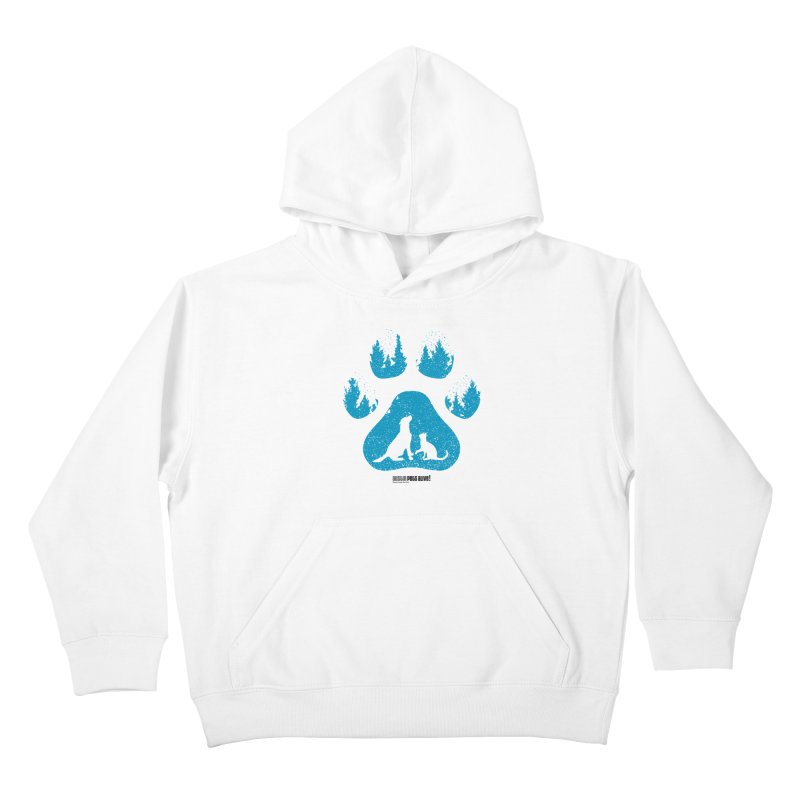 Forest Paw Kids Pullover Hoody by Austin Pets Alive's Artist Shop