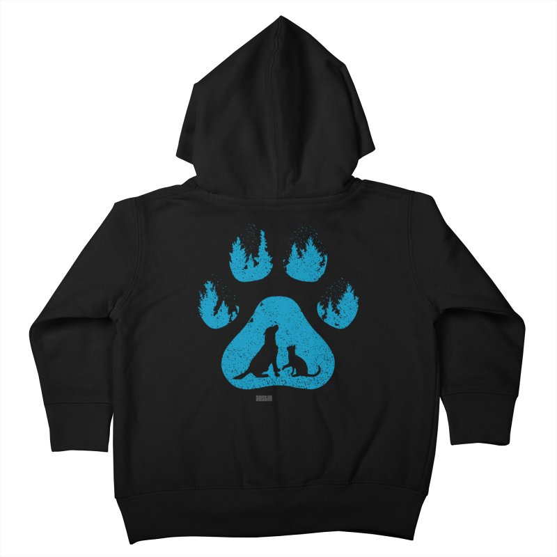Forest Paw Kids Toddler Zip-Up Hoody by Austin Pets Alive's Artist Shop
