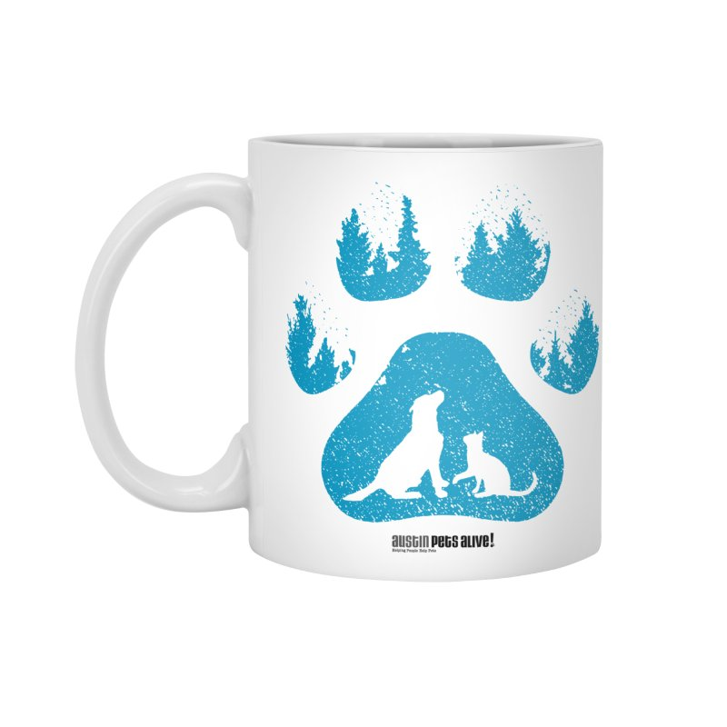 Forest Paw Accessories Mug by Austin Pets Alive's Artist Shop