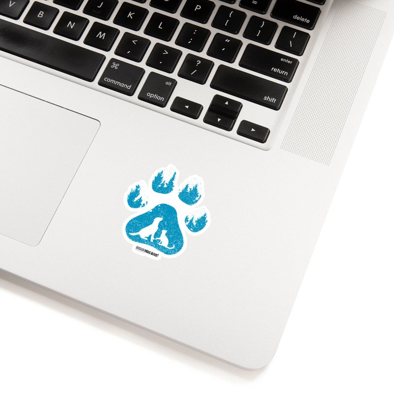 Forest Paw Accessories Sticker by Austin Pets Alive's Artist Shop