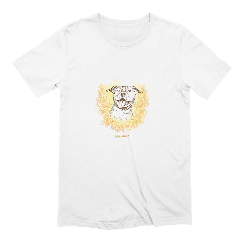 Ray of Sunshine Men's Extra Soft T-Shirt by Austin Pets Alive's Artist Shop