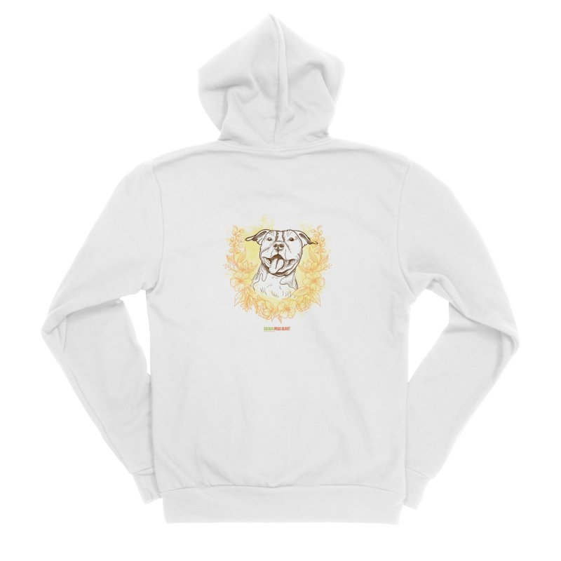 Ray of Sunshine Men's Sponge Fleece Zip-Up Hoody by Austin Pets Alive's Artist Shop