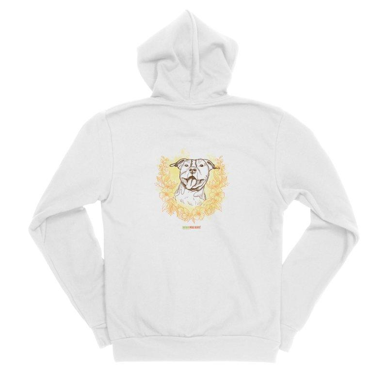 Ray of Sunshine Women's Sponge Fleece Zip-Up Hoody by Austin Pets Alive's Artist Shop