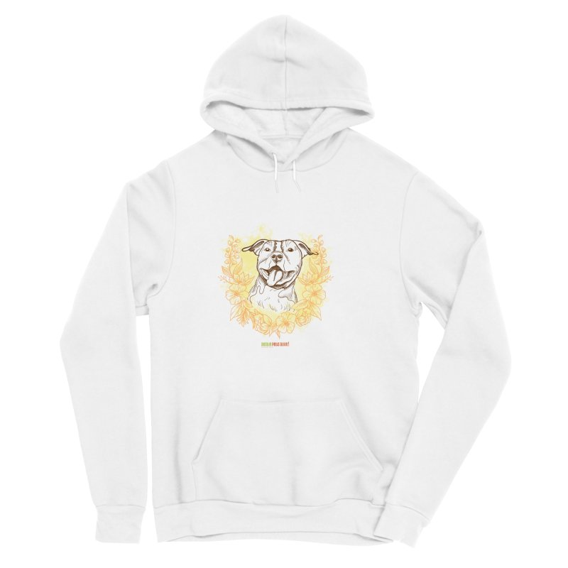 Ray of Sunshine Men's Sponge Fleece Pullover Hoody by Austin Pets Alive's Artist Shop