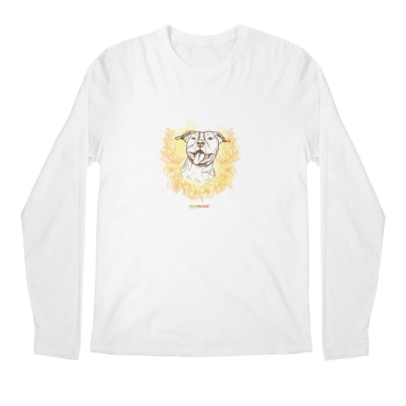Ray of Sunshine Men's Regular Longsleeve T-Shirt by Austin Pets Alive's Artist Shop