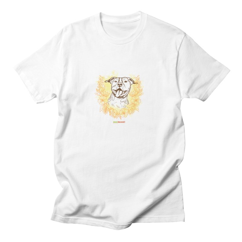 Ray of Sunshine Men's Regular T-Shirt by Austin Pets Alive's Artist Shop