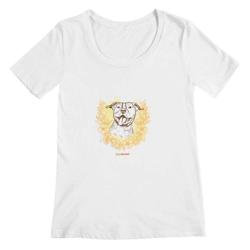 Ray of Sunshine Women's Regular Scoop Neck by Austin Pets Alive's Artist Shop