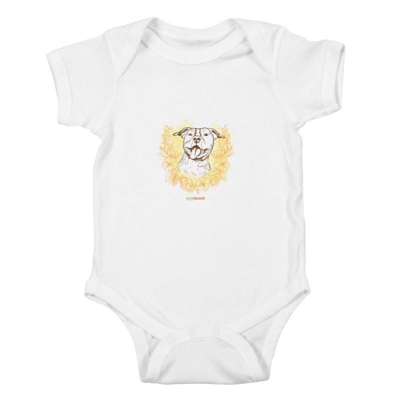 Ray of Sunshine Kids Baby Bodysuit by Austin Pets Alive's Artist Shop