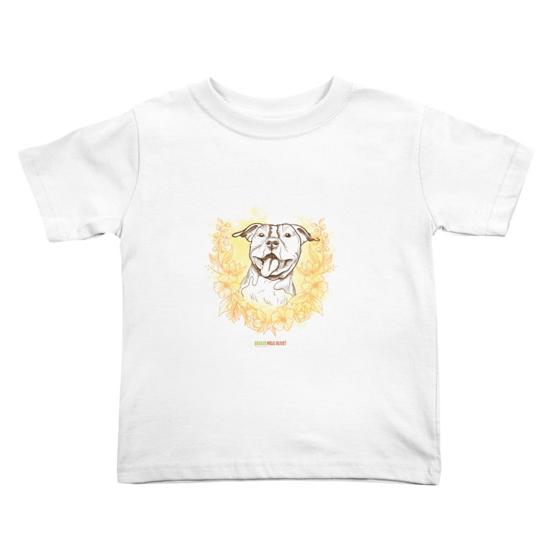 Ray of Sunshine Kids Toddler T-Shirt by Austin Pets Alive's Artist Shop