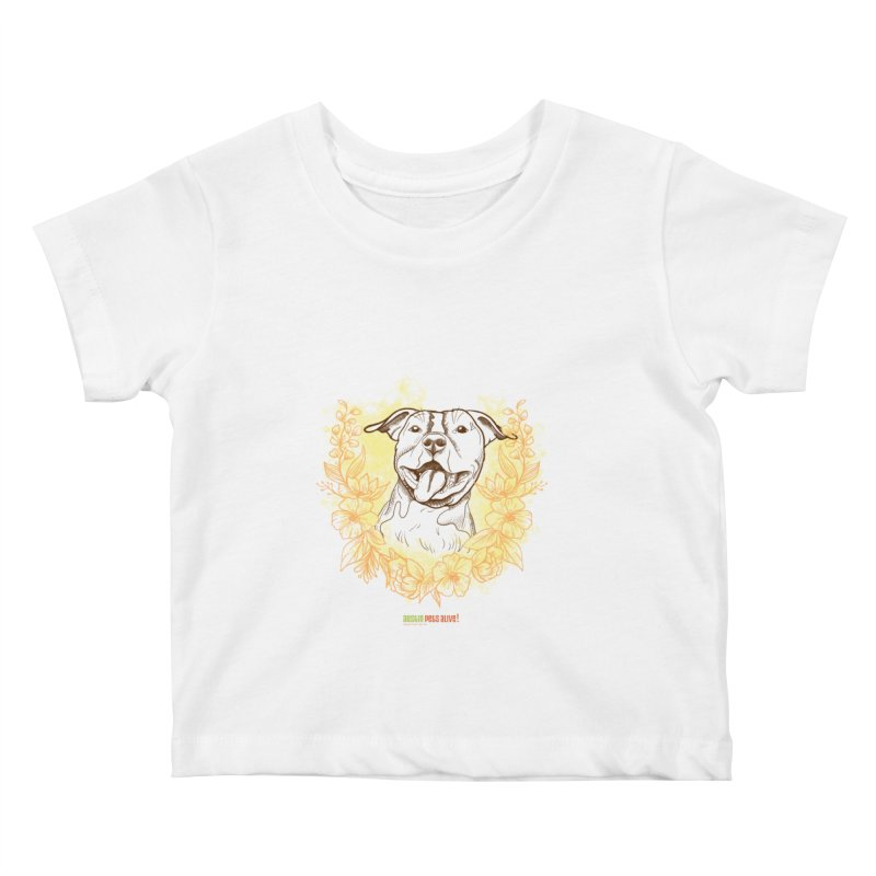 Ray of Sunshine Kids Baby T-Shirt by Austin Pets Alive's Artist Shop