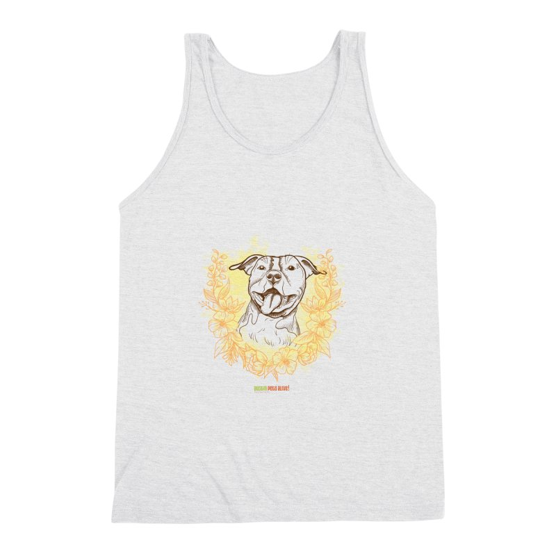 Ray of Sunshine Men's Triblend Tank by Austin Pets Alive's Artist Shop