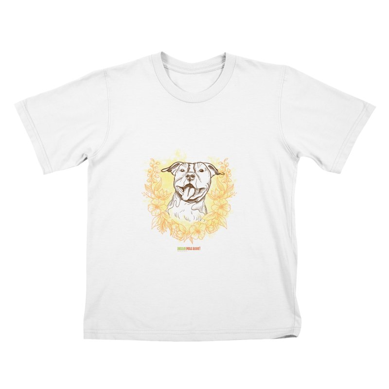 Ray of Sunshine Kids T-Shirt by Austin Pets Alive's Artist Shop