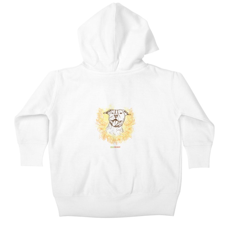 Ray of Sunshine Kids Baby Zip-Up Hoody by Austin Pets Alive's Artist Shop
