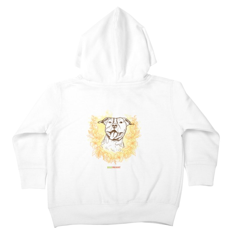 Ray of Sunshine Kids Toddler Zip-Up Hoody by Austin Pets Alive's Artist Shop