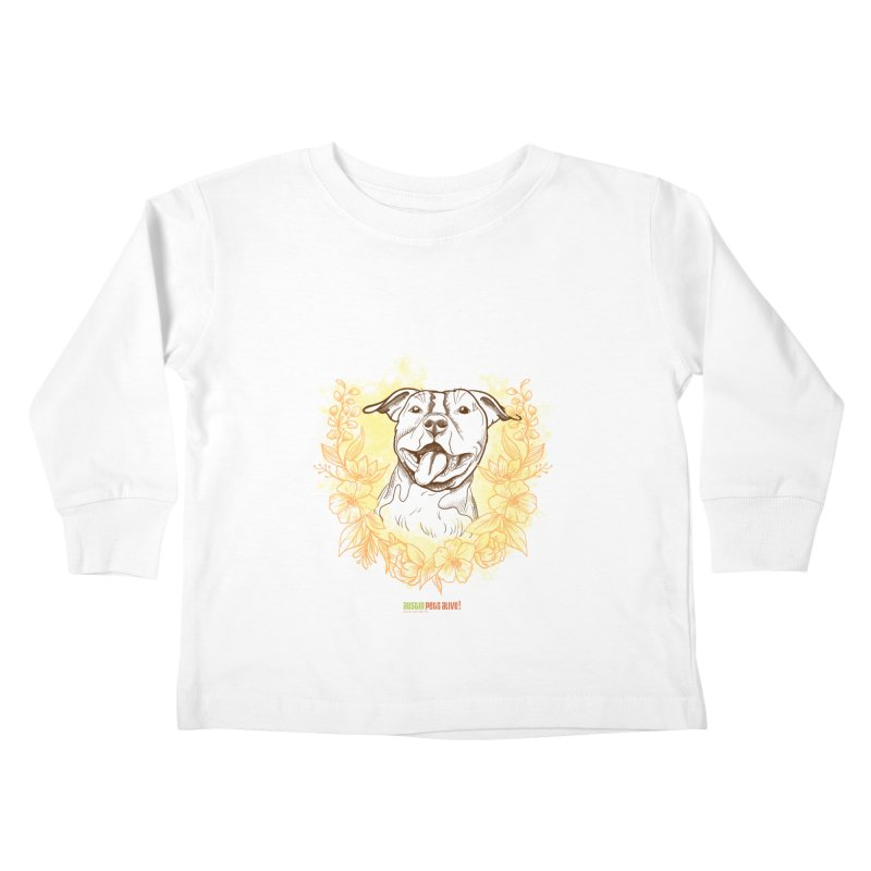 Ray of Sunshine Kids Toddler Longsleeve T-Shirt by Austin Pets Alive's Artist Shop