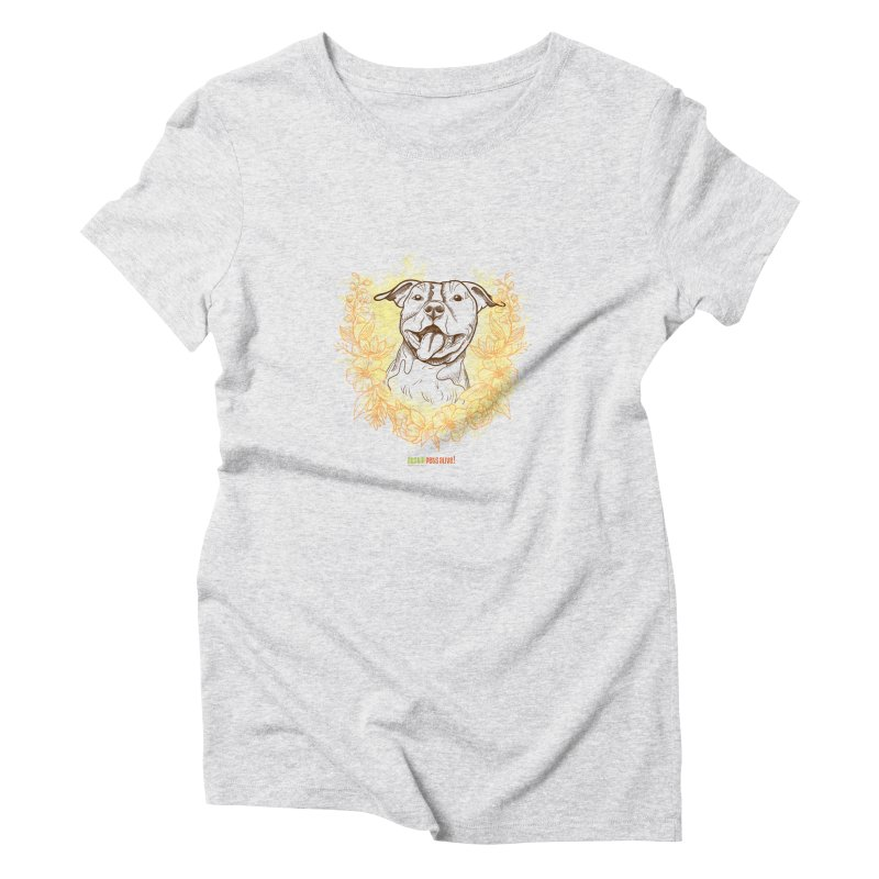 Ray of Sunshine Women's Triblend T-Shirt by Austin Pets Alive's Artist Shop
