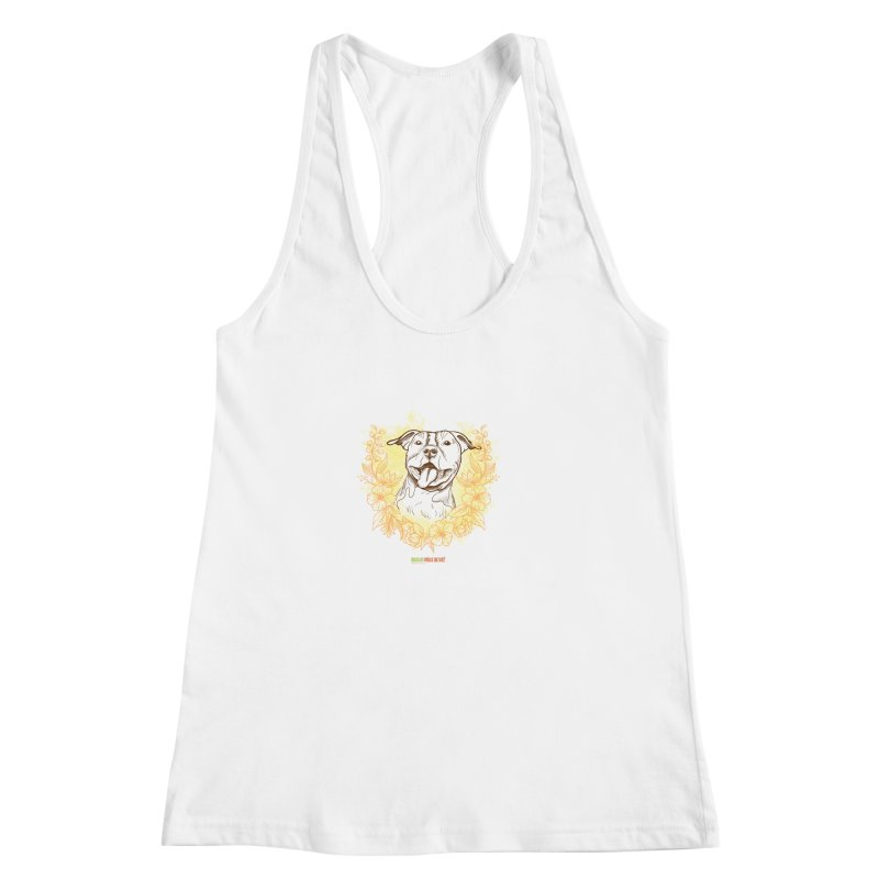 Ray of Sunshine Women's Racerback Tank by Austin Pets Alive's Artist Shop
