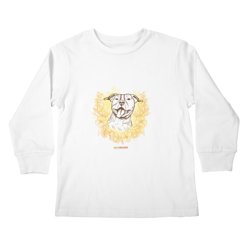 Ray of Sunshine Kids Longsleeve T-Shirt by Austin Pets Alive's Artist Shop