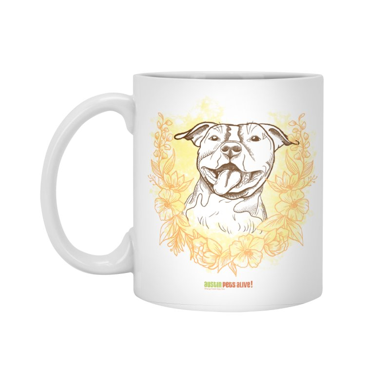 Ray of Sunshine Accessories Standard Mug by Austin Pets Alive's Artist Shop