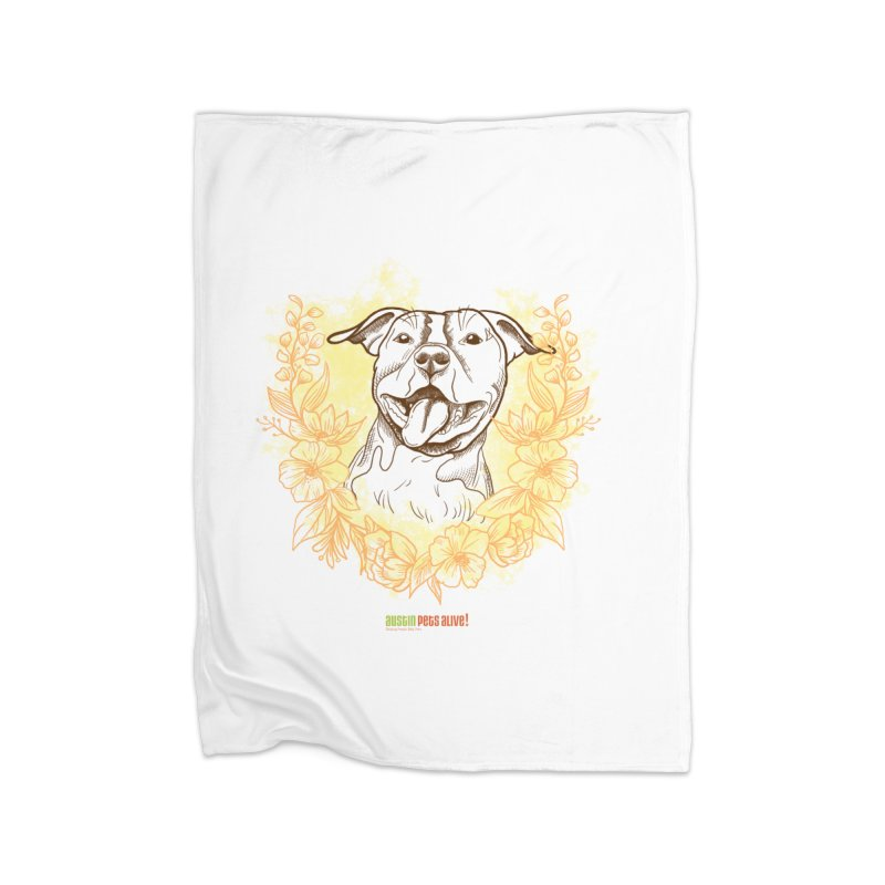 Ray of Sunshine Home Blanket by Austin Pets Alive's Artist Shop