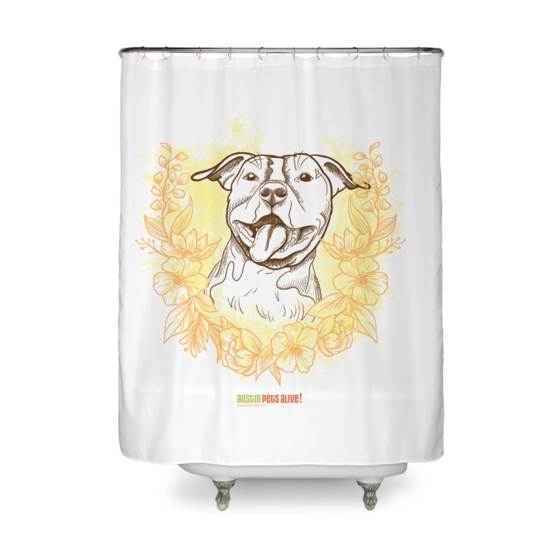 Ray of Sunshine Home Shower Curtain by Austin Pets Alive's Artist Shop