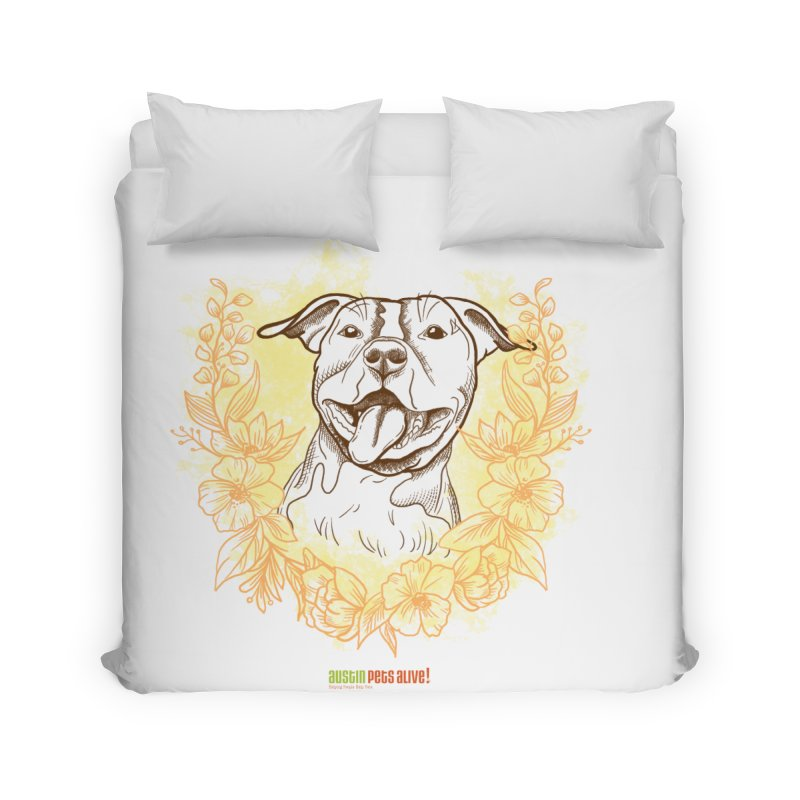 Ray of Sunshine Home Duvet by Austin Pets Alive's Artist Shop
