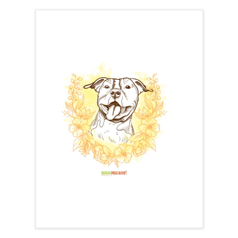 Ray of Sunshine Home Fine Art Print by Austin Pets Alive's Artist Shop