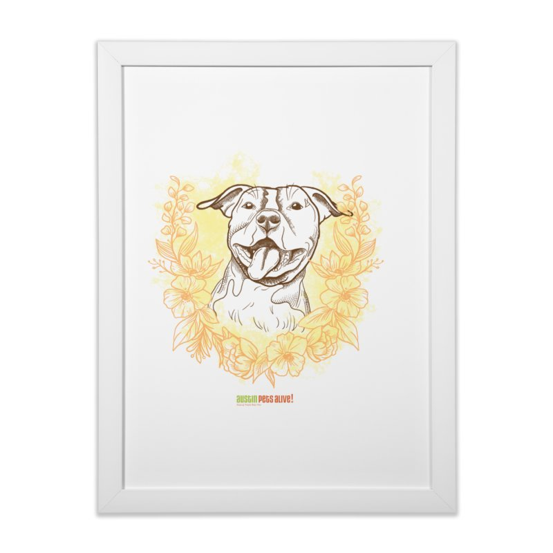 Ray of Sunshine Home Framed Fine Art Print by Austin Pets Alive's Artist Shop