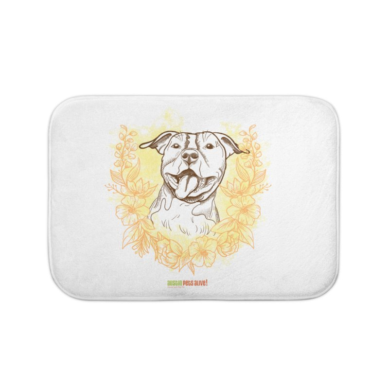 Ray of Sunshine Home Bath Mat by Austin Pets Alive's Artist Shop