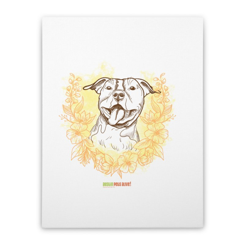 Ray of Sunshine Home Stretched Canvas by Austin Pets Alive's Artist Shop