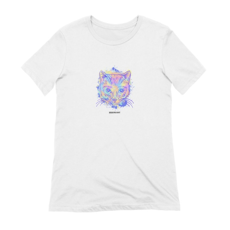 Groovy Cat Women's Extra Soft T-Shirt by Austin Pets Alive's Artist Shop