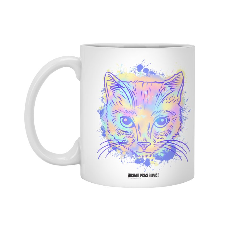 Groovy Cat Accessories Mug by Austin Pets Alive's Artist Shop