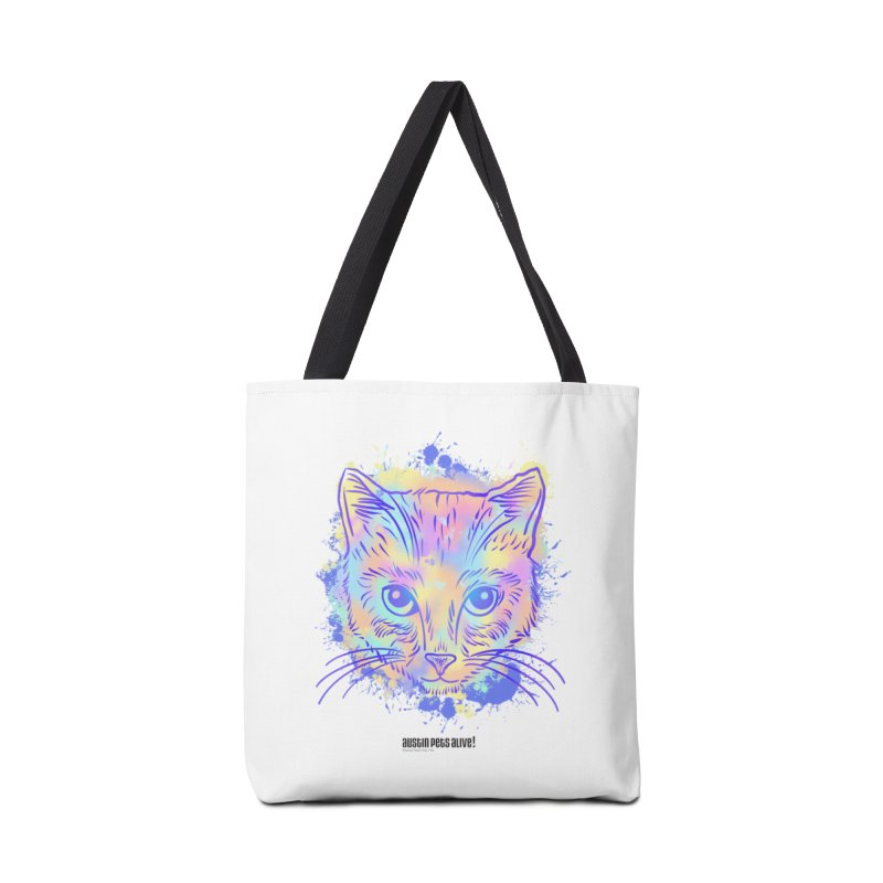 Groovy Cat Accessories Tote Bag Bag by Austin Pets Alive's Artist Shop