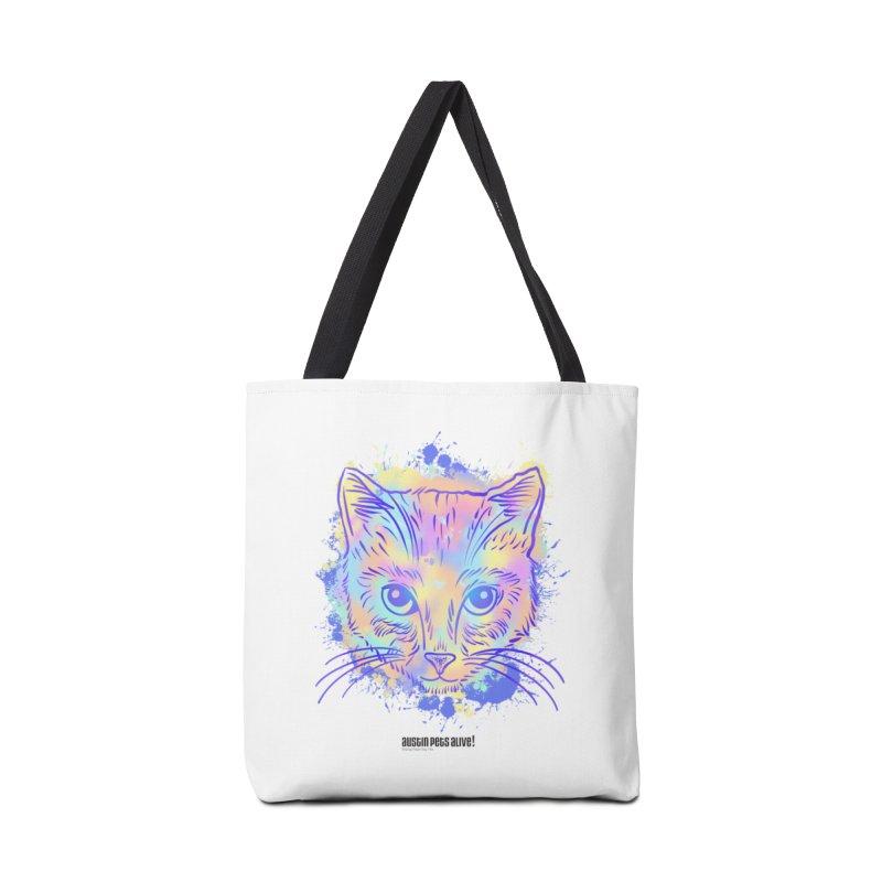Groovy Cat Accessories Bag by Austin Pets Alive's Artist Shop