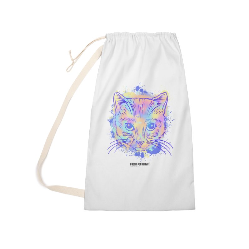 Groovy Cat Accessories Bag by Austin Pets Alive's Artist Shop