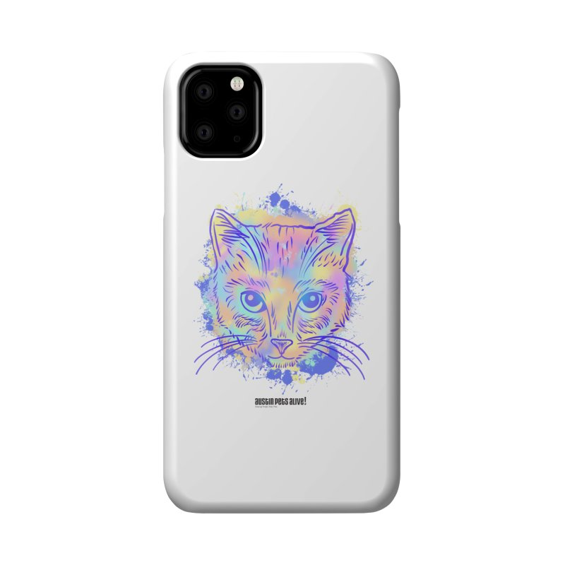 Groovy Cat Accessories Phone Case by Austin Pets Alive's Artist Shop