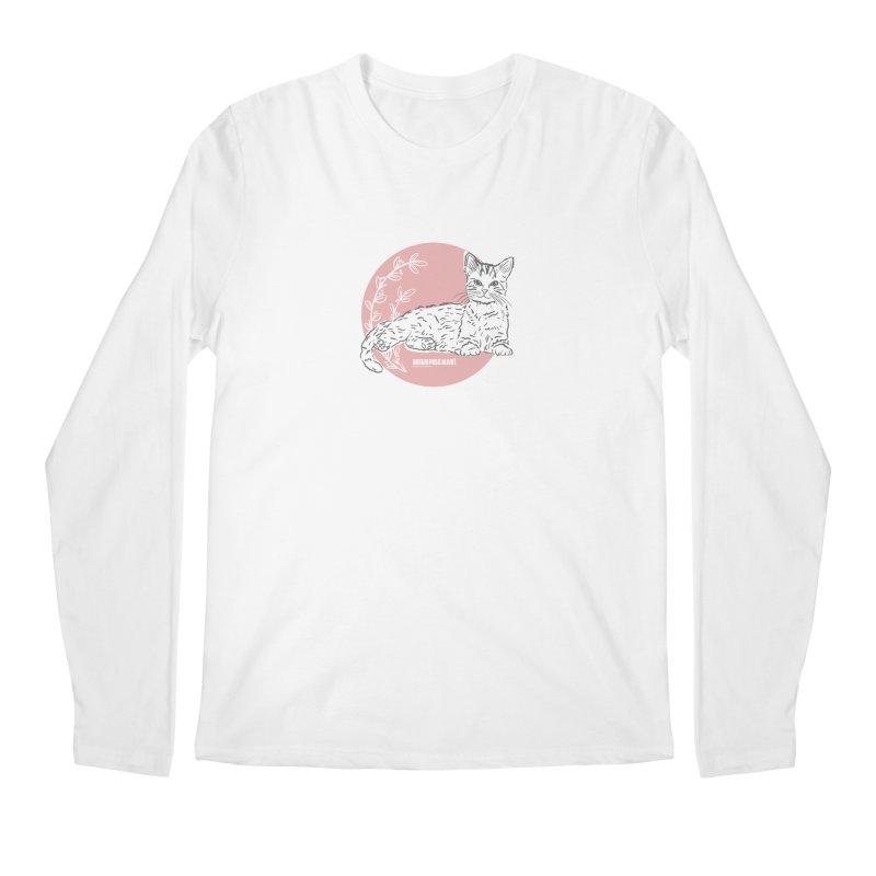 Pretty in Pink Men's Longsleeve T-Shirt by Austin Pets Alive's Artist Shop