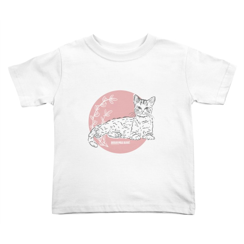 Pretty in Pink Kids Toddler T-Shirt by Austin Pets Alive's Artist Shop