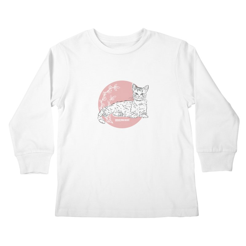 Pretty in Pink Kids Longsleeve T-Shirt by Austin Pets Alive's Artist Shop