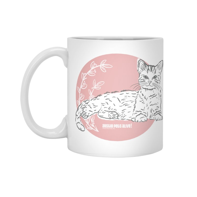 Pretty in Pink Accessories Standard Mug by Austin Pets Alive's Artist Shop