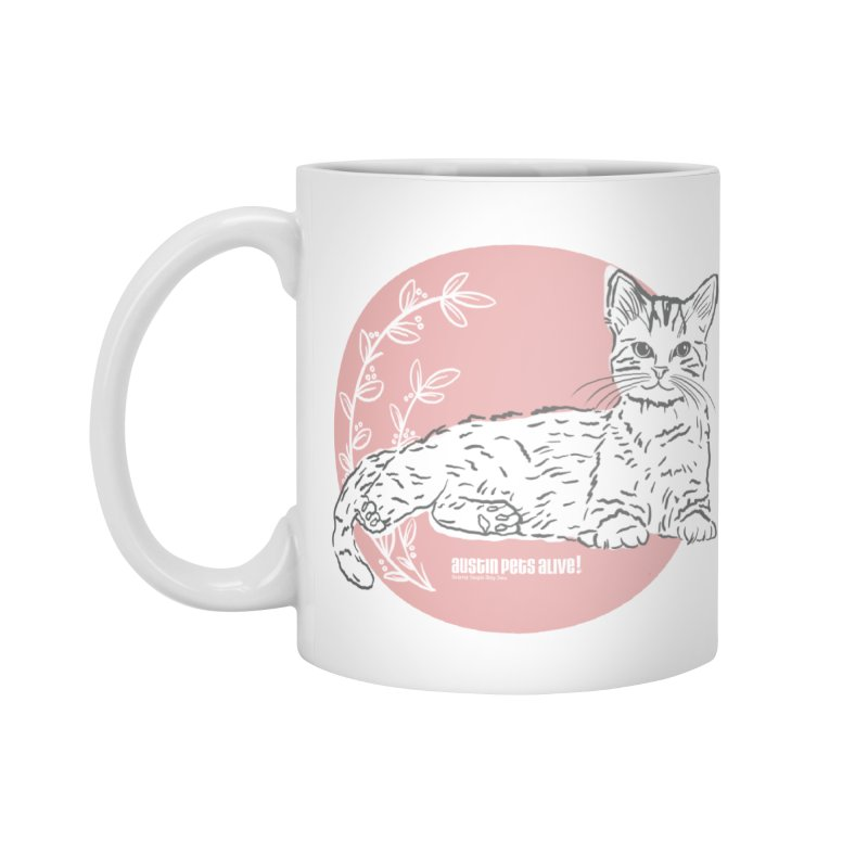 Pretty in Pink Accessories Mug by Austin Pets Alive's Artist Shop