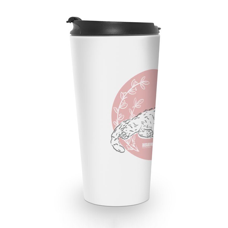 Pretty in Pink Accessories Travel Mug by Austin Pets Alive's Artist Shop
