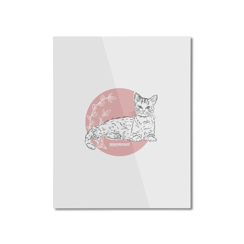 Pretty in Pink Home Mounted Aluminum Print by Austin Pets Alive's Artist Shop