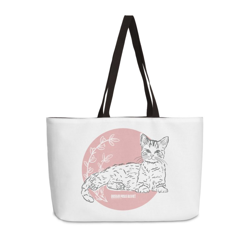 Pretty in Pink Accessories Weekender Bag Bag by Austin Pets Alive's Artist Shop