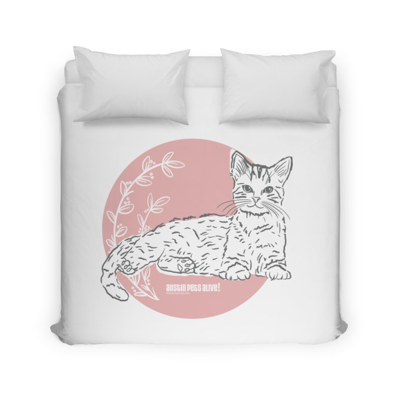 Pretty in Pink Home Duvet by Austin Pets Alive's Artist Shop