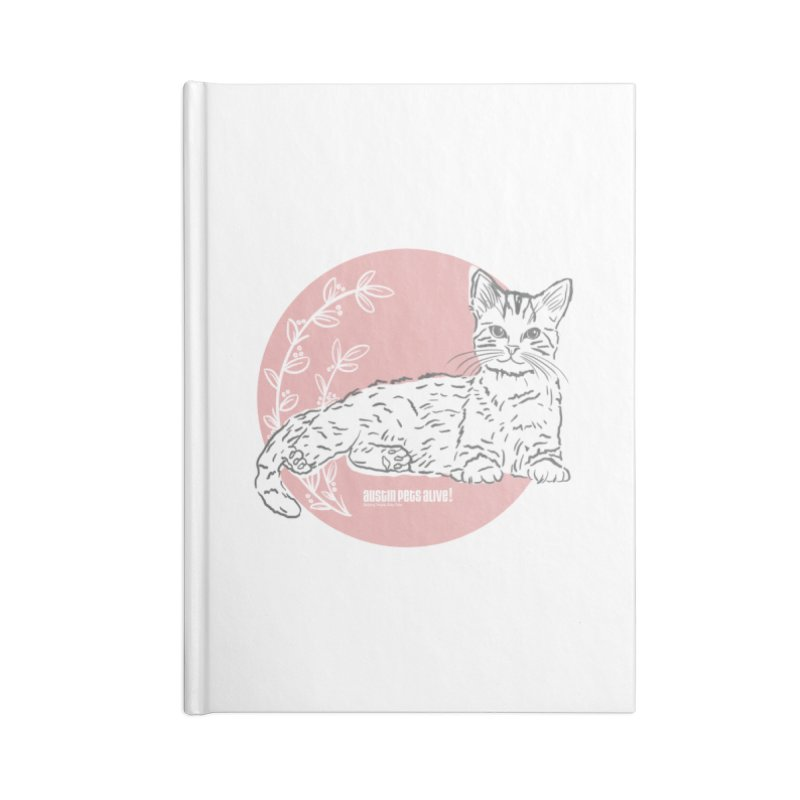Pretty in Pink Accessories Lined Journal Notebook by Austin Pets Alive's Artist Shop