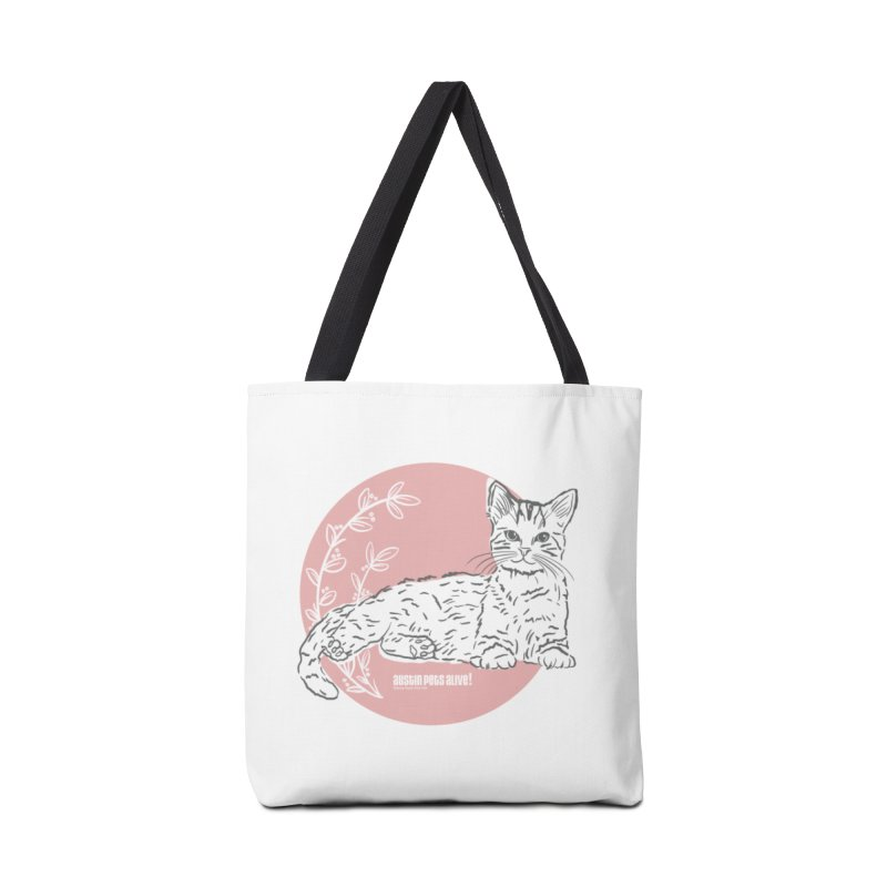 Pretty in Pink Accessories Tote Bag Bag by Austin Pets Alive's Artist Shop