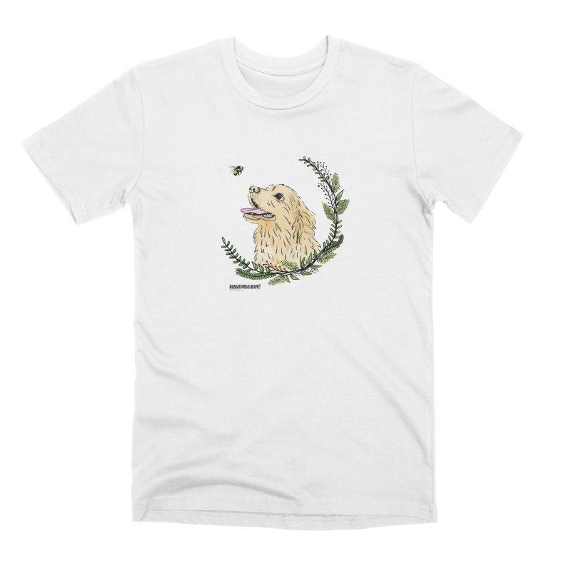 Dog Days Men's Premium T-Shirt by Austin Pets Alive's Artist Shop